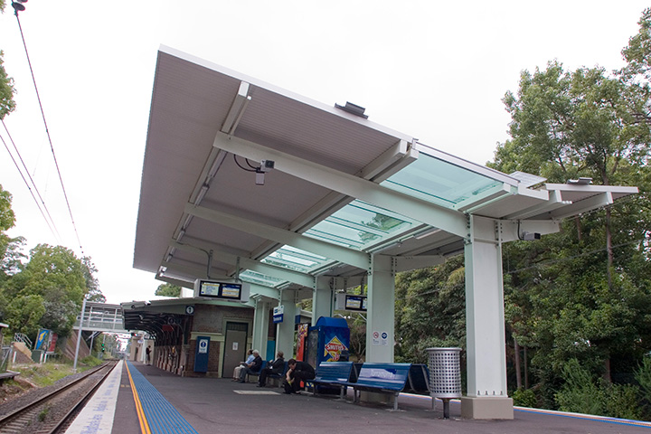Turramurra Train Station